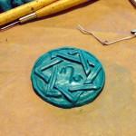 Magier Amulett aus Fimo