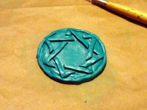 Heptagramm Magier Amulett