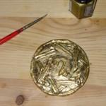Larp Amulett vergolden