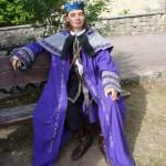Magier Robe - Vom Schnittmuster zur Gewandung