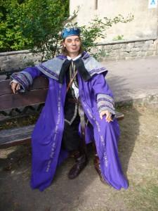 Larp Magier Robe