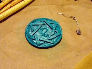 Rune Amulett Fimo