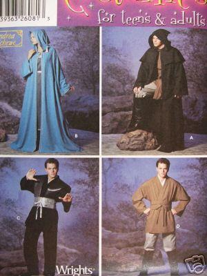 Magier Robe – Vom Schnittmuster zur Gewandung
