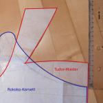 Rokoko-Kleid Teil 2 - Schnittentwurf Rokoko Korsett
