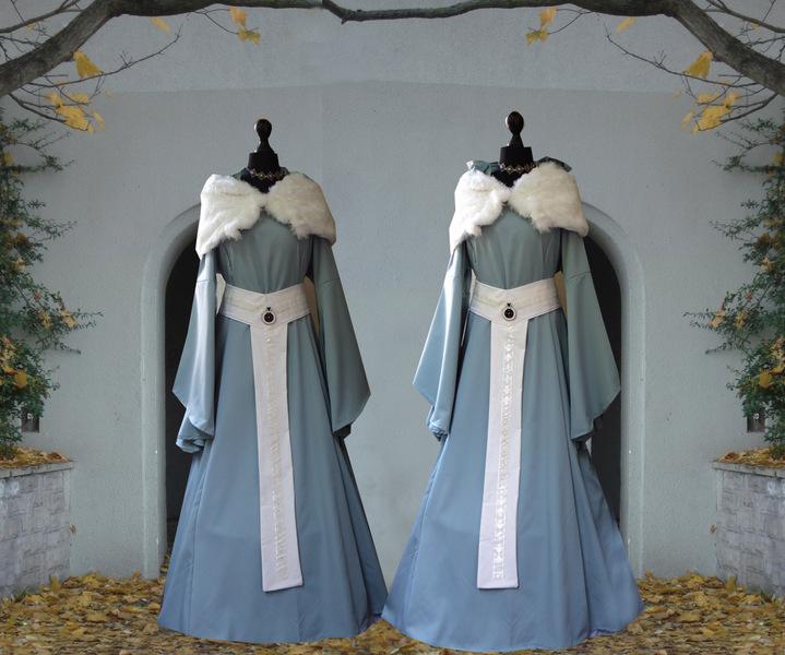 Mittelalter Kleid Elfrun