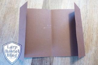 Beutelbuch Tutorial: Umschlag